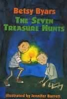 The Seven Treasure Hunts - Betsy Cromer Byars