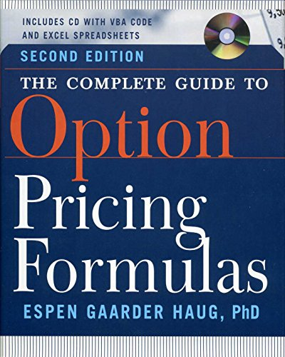 The Complete Guide to Option Pricing Formulas - Espen Gaarder Haug