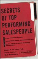 Secrets of Top-Performing Salespeople