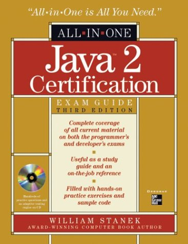 Java 2 Certification All-in-One Exam Guide, 3rd Edition - William R. Stanek