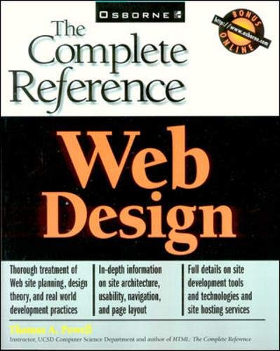 Web Design: The Complete Reference - Thomas A. Powell