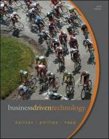 Business Driven Technology [With Access Code]
