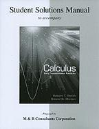 Calculus: Early Transcendental Functions: Student Solutions Manual