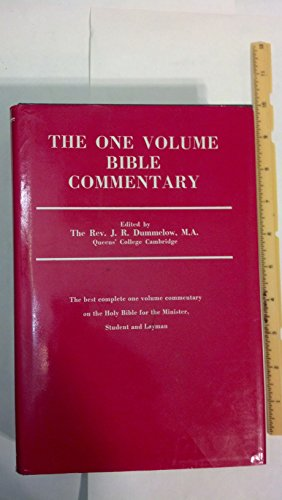Commentary on the Holy Bible - John R. Dummelow