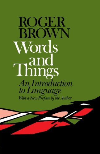 Words and Things - Roger Brown