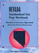 Nevada Standardized Test Prep and Workbook: Elements of Literature, High School
