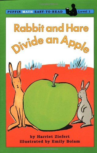Rabbit and Hare Divide an Apple (Easy-to-Read, Puffin) - Harriet Ziefert