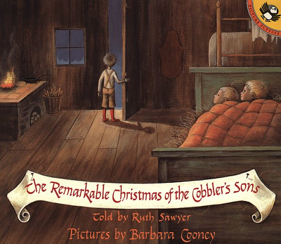 The Remarkable Christmas of the Cobbler's Sons (Picture Puffins) - Ruth Sawyer