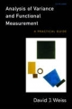 Analysis of Variance and Functional Measurement: A Practical Guide [With CDROM]