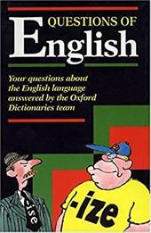 Questions of English