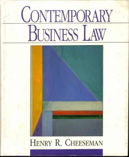Contemporary Business Law - Henry R. Cheeseman