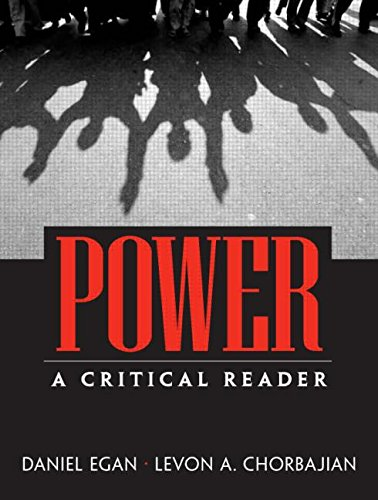 Power: A Critical Reader - Levon Chorbajian; Daniel Egan