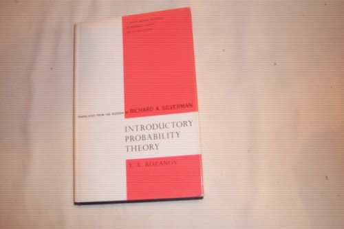Introductory Probability Theory (Selected Russian publications in the mathematical sciences) - Iu. A. Rozanov