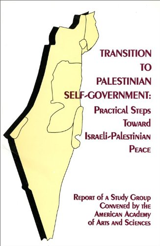 Transition to Palestinian Self-Government : Practical Steps Toward Israeli-Palestinian Peace - Ann M. Lesch; Ann Mosely Lesch
