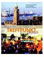 Treffpunkt Deutsch [With Access Code and Dictionary]