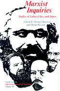 Marxist Inquiries Marxist Inquiries Marxist Inquiries: Studies of Labor, Class, and States Studies of Labor, Class, and States Studies of Labor, Class