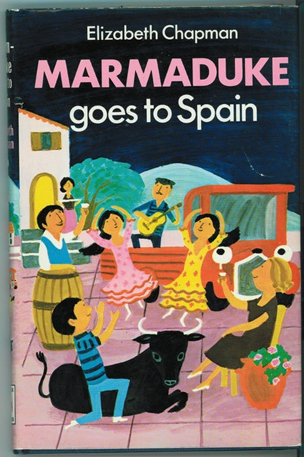 Marmaduke Goes to Spain - Chapman, Elizabeth
