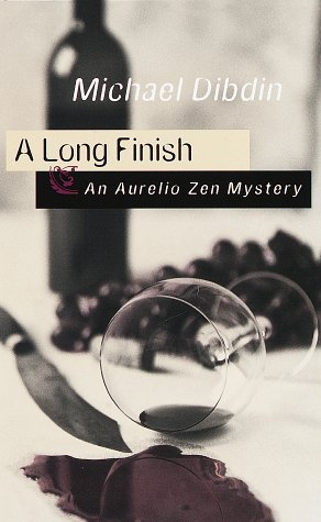 A Long Finish: An Aurelio Zen Mystery - Michael Dibdin