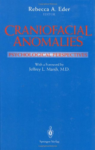 Craniofacial Anomalies: Psychological Perspectives (Contributions to Statistics) - Rebecca A. Eder; J.L. Marsh