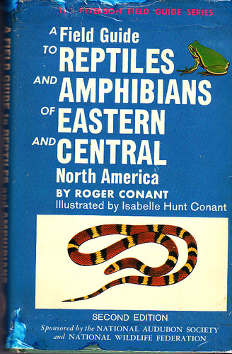 A Field Guide to Reptiles and Amphibians of Eastern and Central North America, 2nd Edition (Peterson Field Guide Series) - Roger Conant