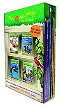 Magic Tree House Starter Library Boxed Set: Dinosauriers Before Dark / Knight at Dawn / Dinosauriers / Games and Puzzels from the Magic Treehouse