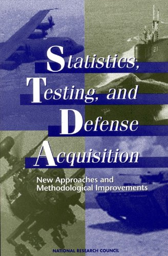 Statistics, Testing, and Defense Acquisition:: New Approaches and Methodological Improvements - Panel on Statistical Methods for Testing and Evaluating Defense Systems; National Research Council; Division o