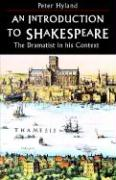 Introduction to Shakespeare - Hyland Peter