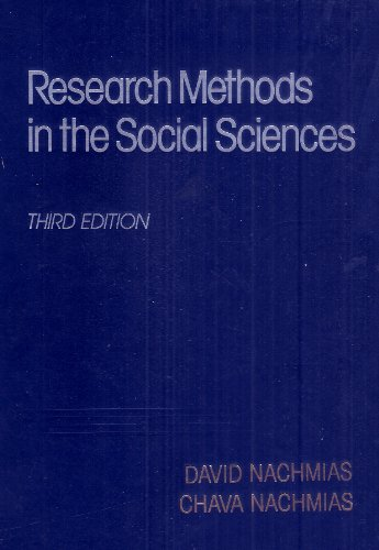 Research methods in the social sciences - David Nachmias