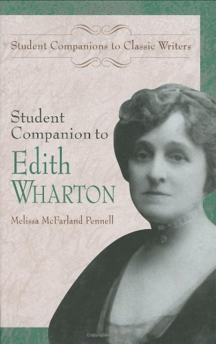 Student Companion to Edith Wharton (Student Companions to Classic Writers) - Melissa McFarland Pennell