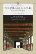 Rhetorical Choices: A Reader for Writers (Penguin Academics Series)
