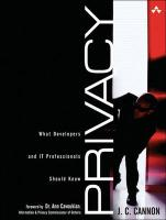 Privacy: What Developers and It Professionals Should Know (Paperback)