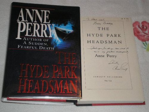 The Hyde Park Headsman - Anne Perry