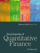 Encyclopedia of Quantitative Finance
