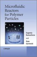 Microfluidic Reactors for Polymer Particles