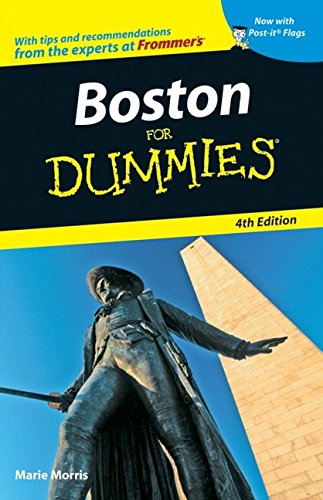 Boston For Dummies - Marie Morris