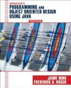 An Introduction to Programming and Object-Oriented Design Using Java