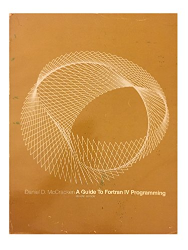 A Guide to FORTRAN IV Programming - Daniel D. McCracken