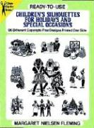 Ready-To-Use Children's Silhouettes for Holidays and Special Occasions
