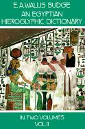 An Egyptian Hieroglyphic Dictionary, Vol. 2