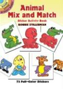 Animal Mix and Match Sticker Activity Book