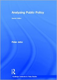 Analyzing Public Policy 2nd Ed.