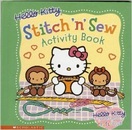 Hello Kitty Stitch 'n' Sew activity book - Cheryl Barton