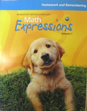 Math Expressions: Homework And Remembering Consumable Volume 2 Level K - HOUGHTON MIFFLIN