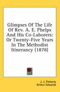 Glimpses of the Life of REV. A. E. Phelps and His Co-Laborers: Or Twenty-Five Years in the Methodist Itinerancy (1878) - Fleharty, J. J.