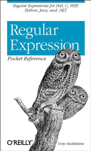 Regular Expression Pocket Reference - Tony Stubblebine