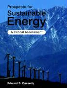 Prospects for Sustainable Energy: A Critical Assessment