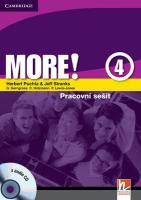 More! Level 4 Workbook with Audio CD Czech Editon