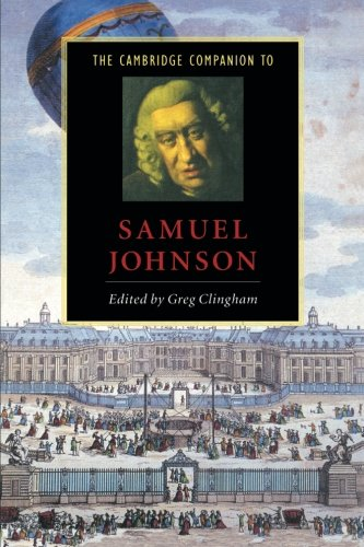 The Cambridge Companion to Samuel Johnson (Cambridge Companions to Literature) - Greg Clingham
