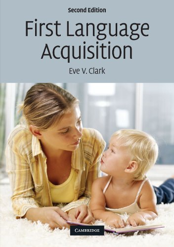 First Language Acquisition - Eve V. Clark
