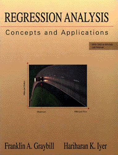 Regression Analysis: Concepts and Applications - Franklin A. Graybill; Hariharan K. Iyer